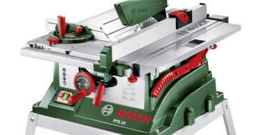 Bosch PTS 10 T HomeSeries Tischkreissäge im Test