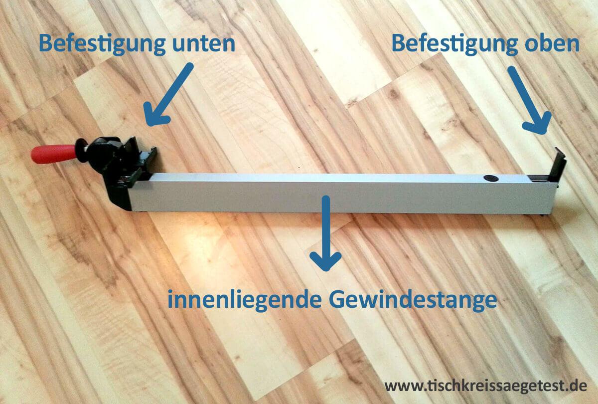Bosch pts 10 untergestell selber bauen